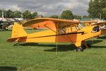 N1472N @ OSH - 1947 Piper J3C-65, c/n: 23002 - by Timothy Aanerud