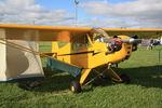 N92251 @ OSH - 1946 Piper J3C-65, c/n: 16707 - by Timothy Aanerud