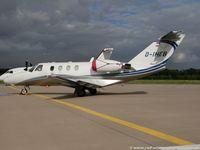 D-IHEB @ EDDK - Cessna 525 CitationJet 1 - SCR Silver Cloud Air - 525-0064 - D-IHEB - 25.09.2015 - CGN - by Ralf Winter