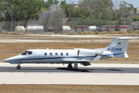 D-CAMB @ LMML - Gates Learjet D-CAMB Private jet - by Raymond Zammit