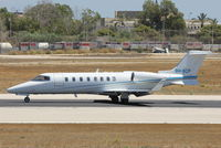 9H-BCP @ LMML - Learjet 45 9H-BCP Private - by Raymond Zammit