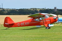 G-BEAH @ X3CX - Parked at Northrepps. - by Graham Reeve
