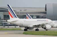 F-GUGL @ LFPG - Airbus A318-111, taxiing, Paris-Roissy Charles De Gaulle airport (LFPG-CDG) - by Yves-Q