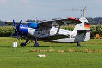 D-FOKK @ EDNH - ex DM-SKK at Airfield Bad Wörishofen, Bavaria, Germany