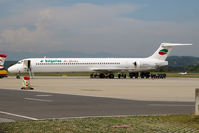 LZ-LDJ @ LOWG - Bulgarian Air Charter MD-82 @GRZ - by Stefan Mager