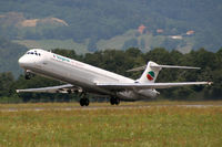LZ-LDJ @ LOWG - Bulgarian Air Charter MD-82 @GRZ (weekly charter from/to Bourgas) - by Stefan Mager