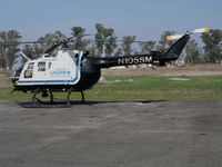 N105SM @ KVCB - CALSTAR 1981 MBB BO-105S on medical evacuation alert @ Nut Tree Airport, Vacaville, CA base - by Steve Nation