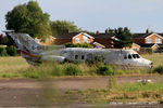 G-OHEA @ EGTC - stored at Cranfield - by Chris Hall
