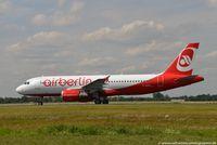 D-ABDO @ EDDL - Airbus A320-214 - AB BER Air Berlin leased from Avolon Aerospace - 3055 - D-ABDO - 31.07.2015 - DUS - by Ralf Winter