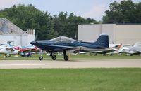 N767CN @ KOSH - F-8L Falco
