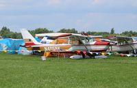 N4058X @ KOSH - Aero Commander 100