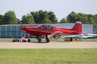 N703L @ KOSH - F-8L Falco