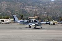 N4494S @ SZP - 1975 Beech A36 BONANZA, Continental IO-520 285 Hp, landing roll Rwy 22 - by Doug Robertson