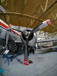 LN-KLK @ ENZV - At the Flyhistorisk Museum in Stavanger - by Micha Lueck