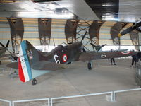 6 - Dewoitine D.520 at the Musee de l'Air, Paris/Le Bourget