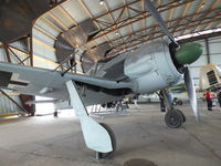 62 - Focke-Wulf Fw 190A-8 (SNCAC NC.900) at the Musee de l'Air, Paris/Le Bourget - by Ingo Warnecke