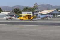 N38003 @ SZP - 1941 Piper J3C-65 CUB, Continental A&C-65 65 Hp, taxi back - by Doug Robertson