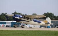 N195MK @ KOSH - Cessna 195B