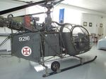 9216 - Sud-Est SE.3130 Alouette II at the Museu do Ar, Alverca - by Ingo Warnecke