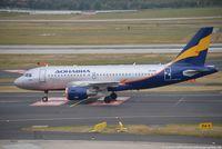 VP-BIS @ EDDL - Airbus A319-112 - R4 SDM Rossiya 'Chelyabinsk' - 1808 - VP-BIS - 20.09.2016 - DUS - by Ralf Winter