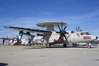 163698 @ KNTU - E-2C Hawkeye 163698 AJ-600 from VAW-124 Bear Aces  NAS Norfolk, VA - by Dariusz Jezewski www.FotoDj.com
