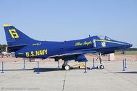 155027 @ KOQU - A-4F Skyhawk 155027 - by Dariusz Jezewski www.FotoDj.com