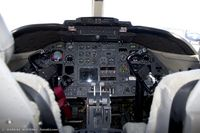 84-0064 @ KOQU - Cockpit of C-21A Learjet 84-0064