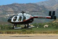 N555MS @ LFKC - Landing