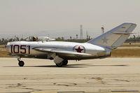 N87CN @ KCNO - MiG-15  C/N 910-51, NX87CN