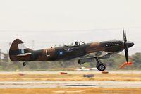 N749DP @ KCNO - Supermarine Spitfire Mk XIV  C/N 6S/583887, NX749DP