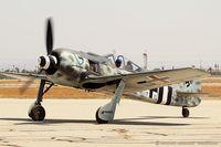 N190RF @ KCNO - Focke Wulf FW 190A-9  C/N 980 574, NX190RF