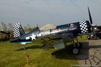 N83JC @ KRDG - Goodyear FG-1D Corsair Skyboss C/N 67089, NX83JC