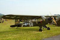 N70615 @ KRDG - Piper J3C-65 Cub  C/N 17624, N70615