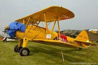 N57947 @ KRDG - Boeing A-75N1 (PT-17) Stearman  C/N 75-4392, N57947