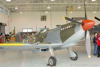N730MJ @ 42VA - Supermarine Spitfire Mk IX  C/N CBAF 7243, N730MJ