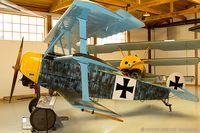 N417RB @ 42VA - Fokker DR-I C/N 42118, NX417RB