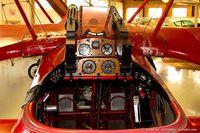 N900TP @ 42VA - Cockpit of Fokker DR-1 C/N 001TP, N900TP
