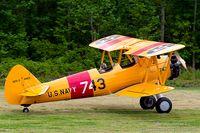 N41EE @ 42VA - Boeing B-75N1 Stearman  C/N 75-2743, N41EE