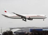 A9C-HMH @ LFBO - Landing rwy 14R... First visit for a B767-400 @ LFBO - by Shunn311