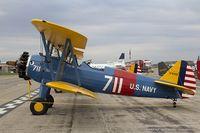 N7835B @ KYIP - Boeing A-75N1 (PT-17) Stearman  C/N 75-4587, N7835B