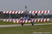 N4442N @ KOSH - Boeing A75N1(PT17) Stearman  C/N 75-7893, N4442N