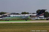 N45TU @ KOSH - Learjet Inc 45  C/N 120, N45TU