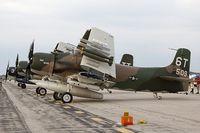 N2AD @ KOSH - Douglas AD-1 Skyraider Bad News  C/N 09257, N2AD - by Dariusz Jezewski www.FotoDj.com