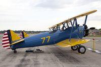 N79650 @ KOSH - Boeing E-75N1 Stearman  C/N 75-5770  - Dave Groh, N79650