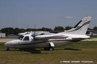N40JJ @ KOSH - Mitsubishi MU-2B-26A  C/N 383, N40JJ