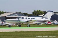 N2707L @ KOSH - Cessna 414A Chancellor  C/N 414A0609, N2707L
