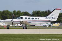 N7245G @ KOSH - Cessna 421C Golden Eagle  C/N 421C0286, N7245G