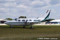 N824MZ @ KOSH - Piper Aerostar 601P  C/N 61P08518163449, N824MZ