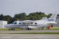 N130MS @ KOSH - Mitsubishi MU-2B-60  C/N 750SA, N130MS
