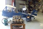 N86698 - Pietenpol (Dunton M.P.) Aircamper (fuselage only) at the Wings of History Air Museum, San Martin CA